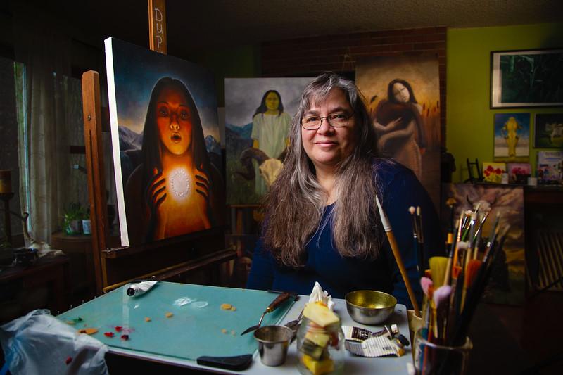 Tammie Dupuis, Bitterroot Salish artist