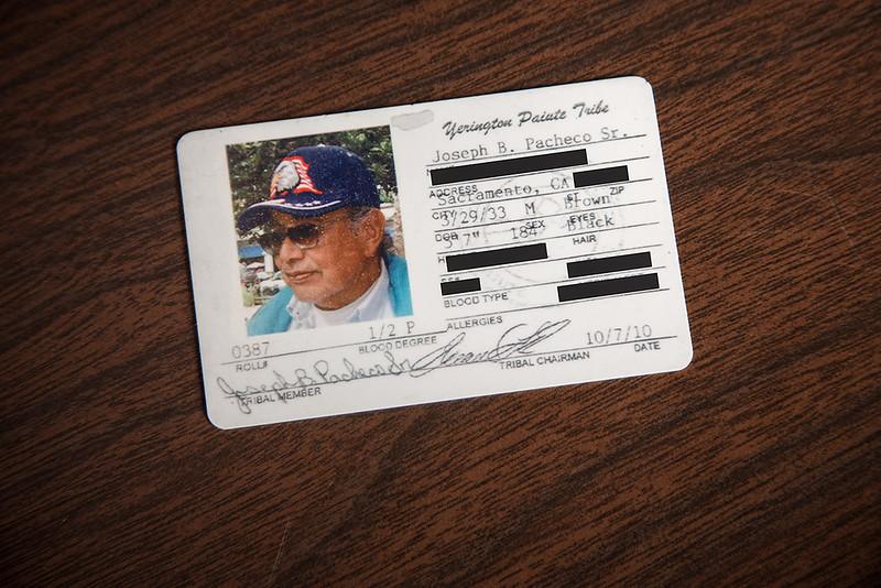 Tribal I.D. Card