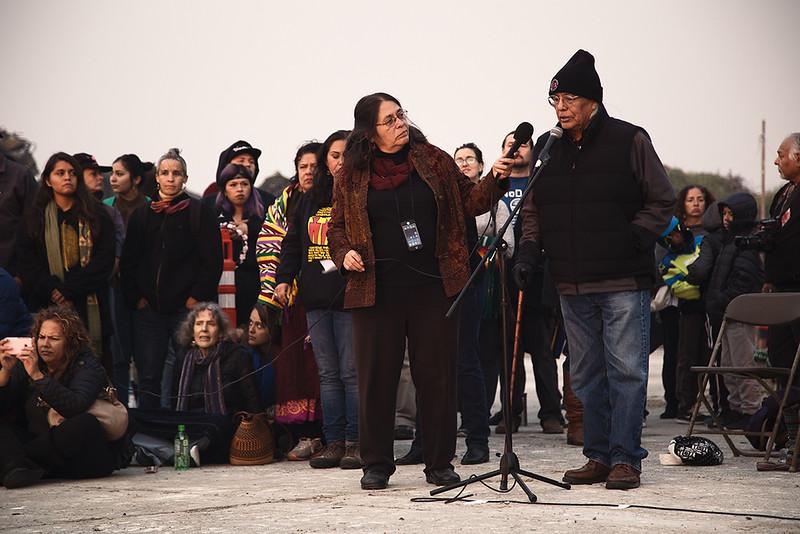 Indigenous People's Day 2017, Alcatraz Island