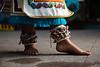 Aztec Butterfly Cocoon Ankle Rattles (Cochipilotl)