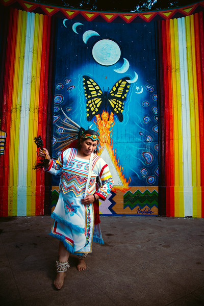 Aztec Traditional Dance Performed by América December