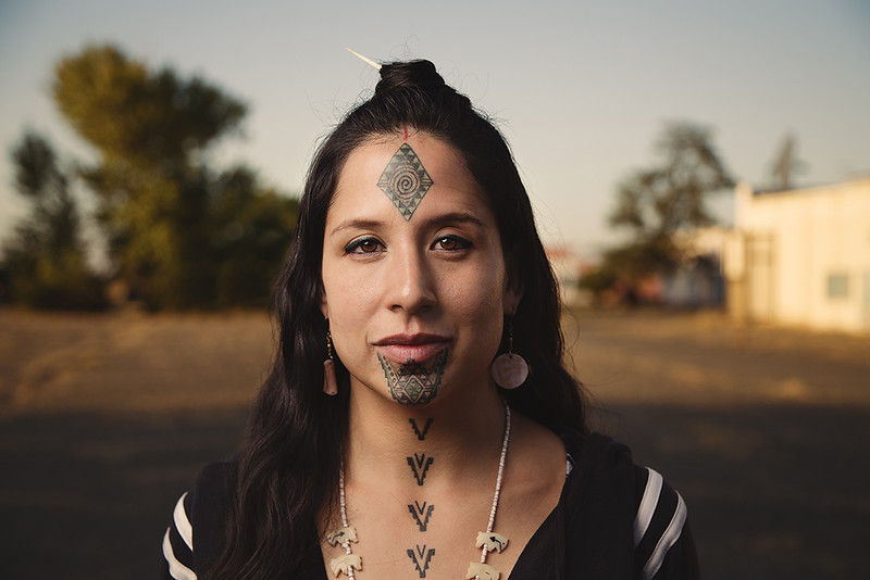 Stephanie Big-eagle, Lakota Native