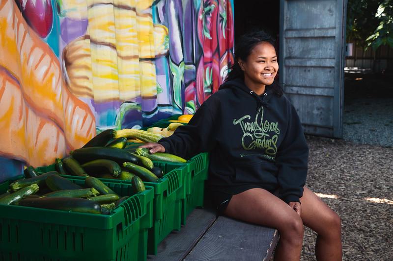 Kris, 29 Years Old, Urban Farmer at Three Sisters Gardens