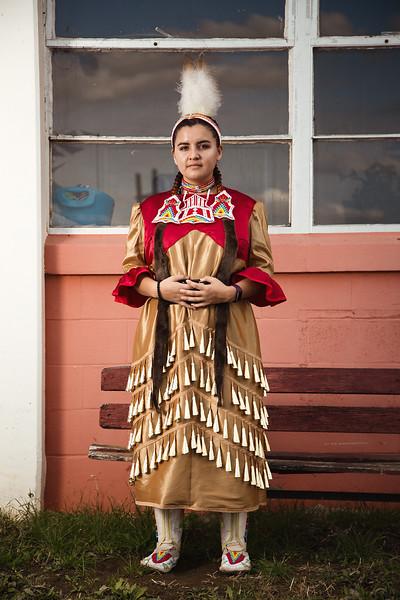 Maya Horse, Oglala Lakota Native, 17 years old