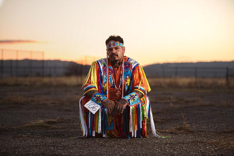 Tommy Alanis, Diné (Navajo) Native American