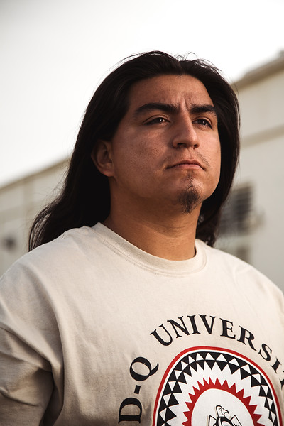 David Ocelotl, Azteca Native American