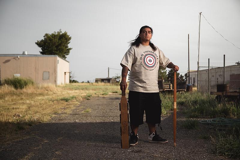 David Ocelotl, Aztec Native American