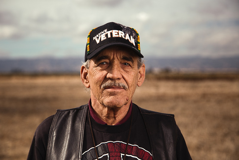 Richard Flittie, Lakota Native American, 73 years old
