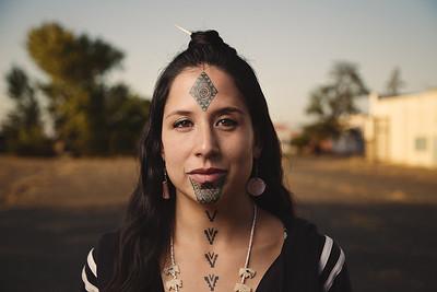 Stephanie Big-eagle, Lakota Native American