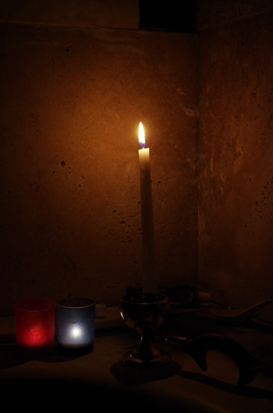 Candles and Censer