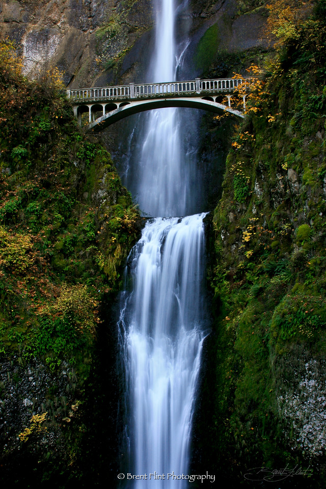 DF.605 - Multnomah Falls, OR.