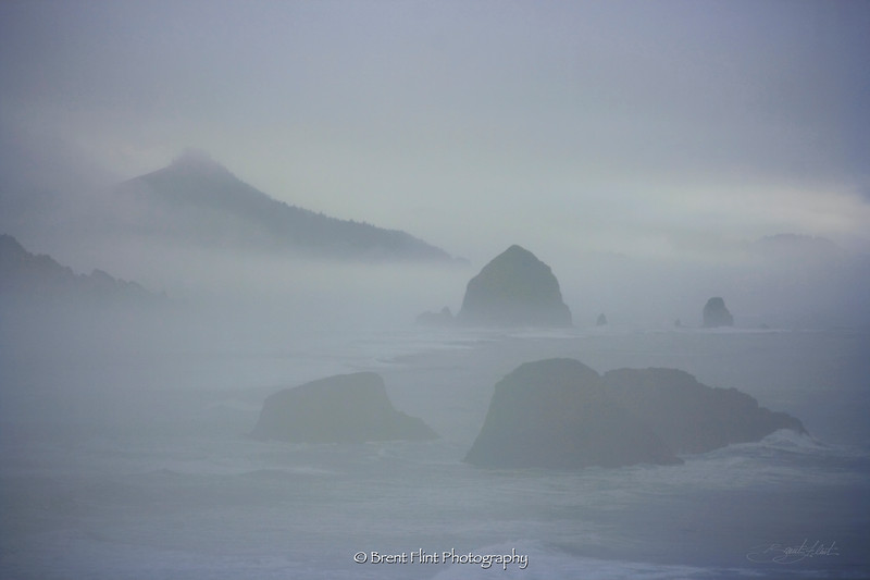 DF.672 - seastacks, Ecola State Park, OR.