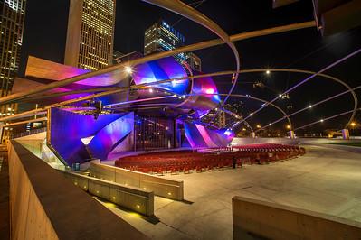 Jay Pritzker Pavilion (Architect: Frank Gehry)