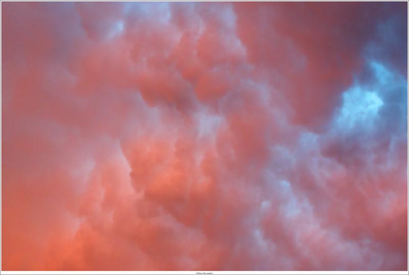 Sky on fire over Ede, NL