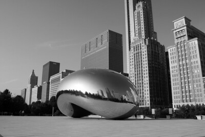 Cloud Gate (The Bean) in Millennium Park