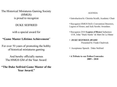 Significant Awards