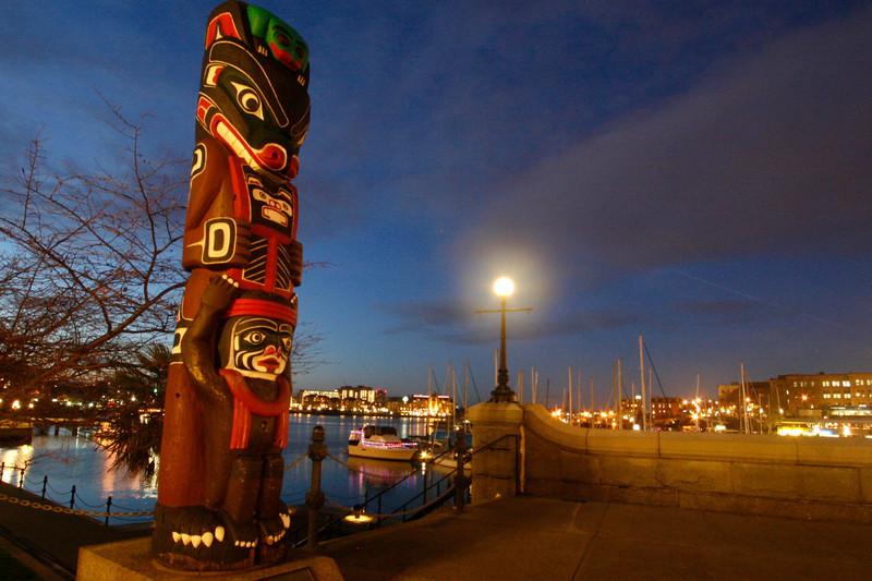 Victoria Harbor Totem