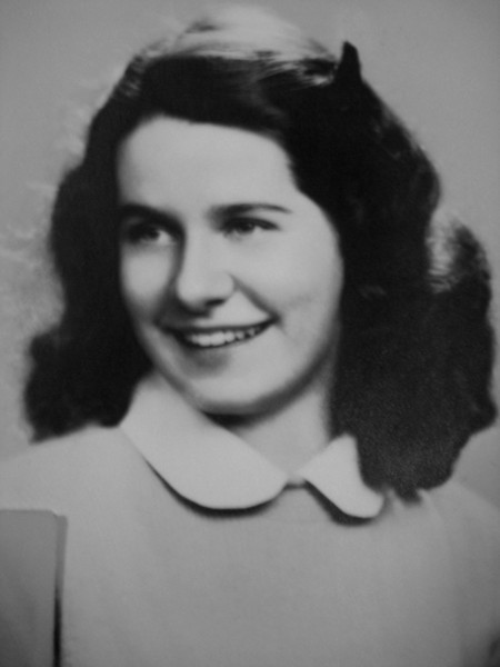 Mom (in high school?)