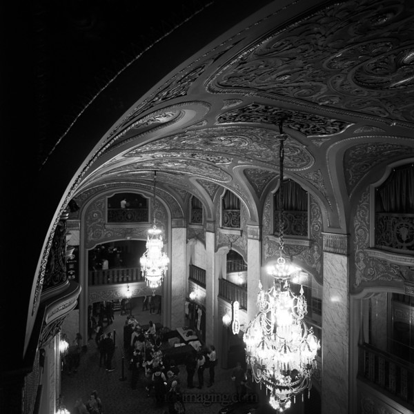 Seattle Paramount Theatre foyer, October 1, 2017