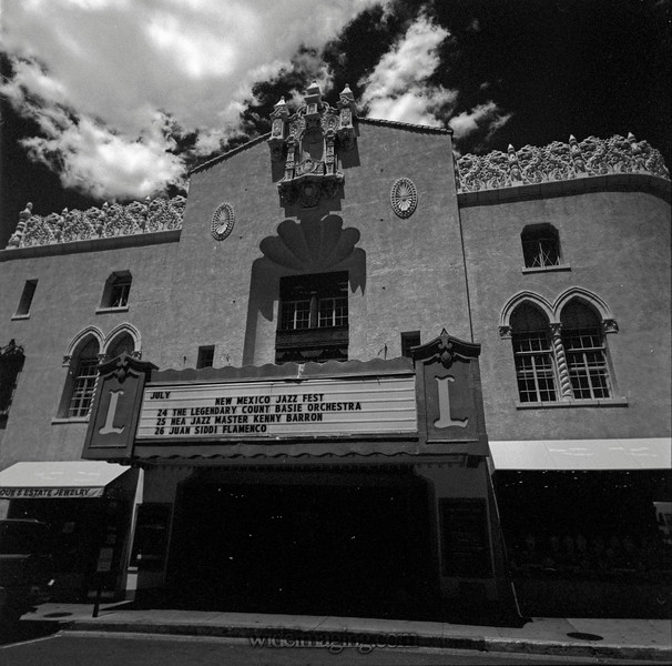The Lensic Theatre, Santa Fe, New Mexico, July 25, 2015
