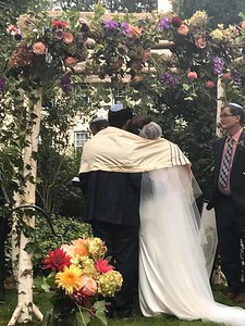 Backyard Jewish Wedding (New York)