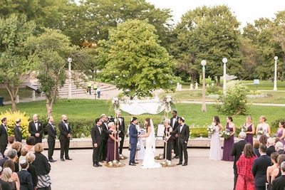 Outdoor Wedding Ceremony (Chicago, IL)