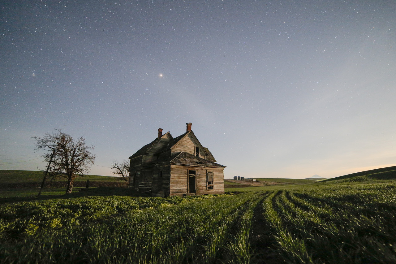 ABANDONED UNDER THE MOON