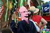 Pink Paper Mask - Wellfleet Parade - July 4, 2008