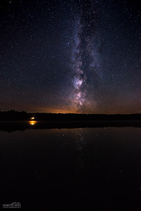 Town Lake Milky Way