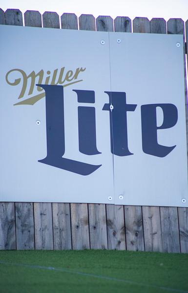 Miller Lite sign in Aggieville on November 18th 2019 (Dalton Wainscott I Collegian Media Group)