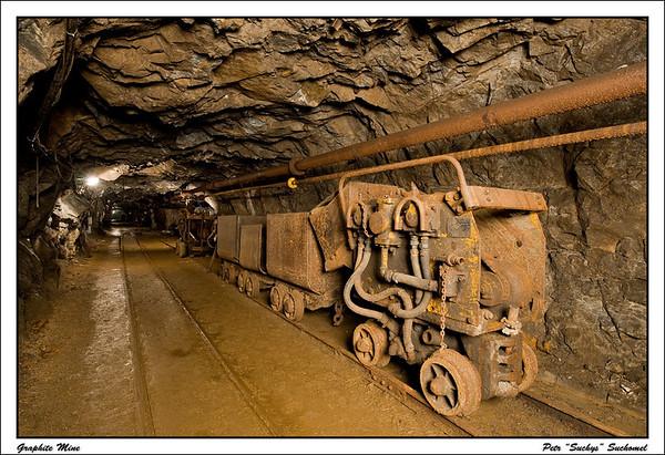 Graphite Mine, Cesky Krumlov