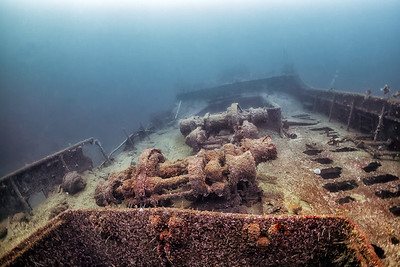 #9616   The wreck of D/S Spring, Askøy, Hordaland, Norway