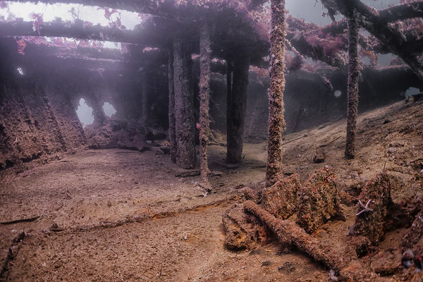 #9612 In the wreck of D/S Spring, Askøy, Hordaland, Norway
