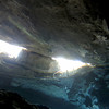 Chac Mool cenote - Inside looking out #2 - 1