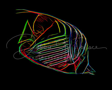 Fractal Butterfly Fish