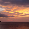 Sombrero Island at Sunset