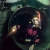 A diver (Lisa) explores Mermet's Boeing 727 where the tail engine was formerly located  S6