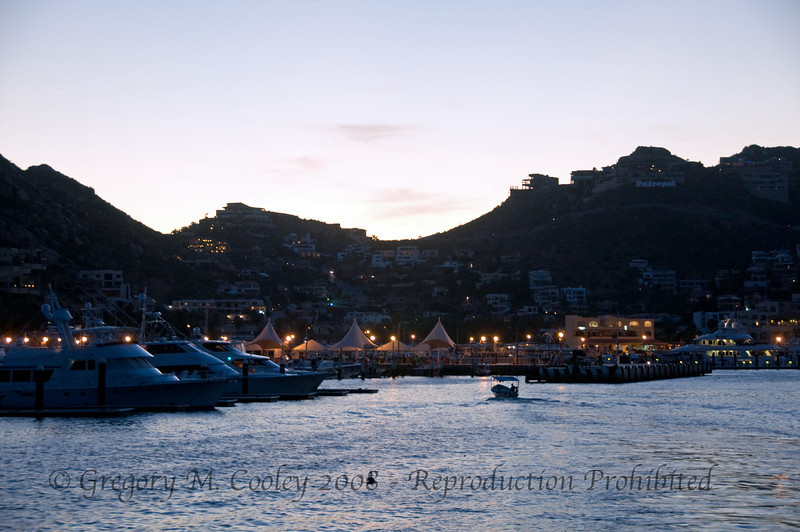 Leaving Cabo San Lucas, Mexico on the Nautilus Explorer for a 9 night dive trip.
