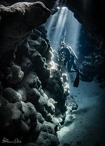 Natural Light Red Sea caves