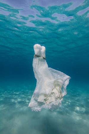 Underwater Wedding Pictures