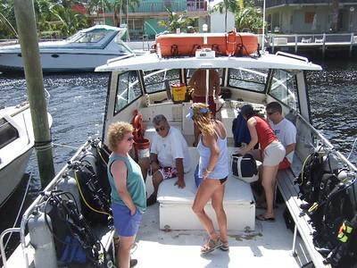 2007-10-22 Key Largo Diving/Drinks