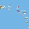 Saba and St. Kitts - part of Leeward Islands