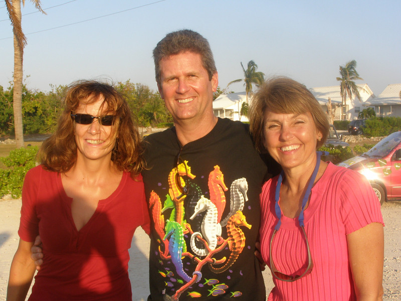 Ann with Steve and Rhonda, her long time friends