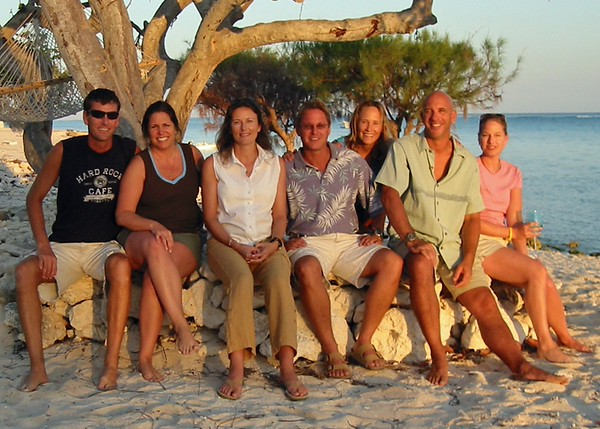 Ann and the rest of Paradise Divers Crew - the best ever.