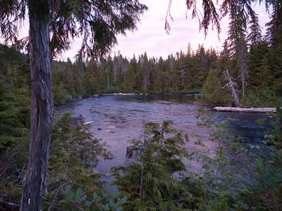 River to Baranof Springs
