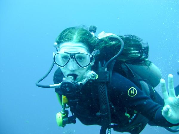 K Scuba diving