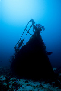 Devil's Table Wreck lies of the coast of Bequia.