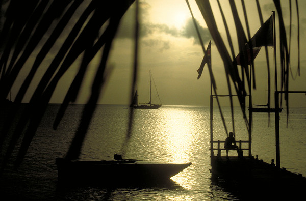 Golden Sunset in Bequia