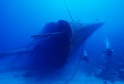 Wreck of the Hilma Hooker, Bonaire.