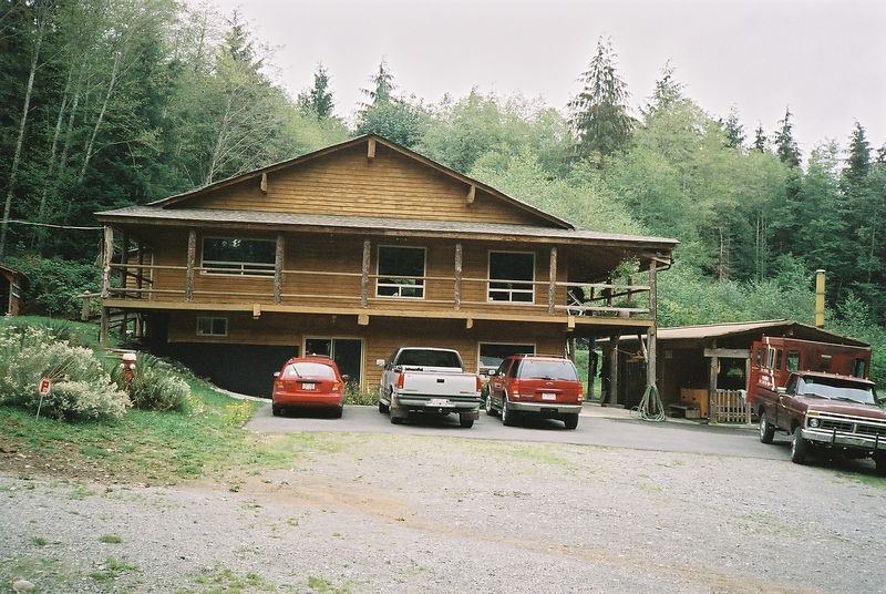 The lodge.